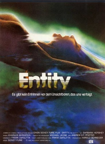 The Entity Movie Poster (27 x 40 Inches - 69cm x 102cm) (1983) German -(Barbara Hershey)(Ron Silver)(Alex Rocco)