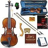 Forzati FZV600 4/4 Full Size Violin Set, Superior Handcrafted Violins, Adult Violin, Hand-Varnished,...