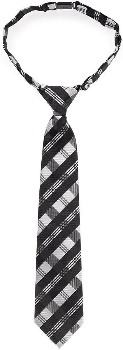 Tartan Very Free shipping / New popular Plaid Patterns Woven Pre-tied Tie Microfiber Boy's