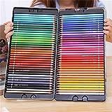 Lápiz de color Conjunto aceitosa de color set de lápiz crayones Soft Core Pintura lápices de dibujo de bocetos de color Pintura Suministros 72 colores BTZHY (Color : Multicolored)