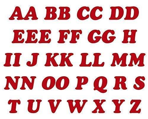 Rouge à Repasser Lettres Paquet de 40 Lettres