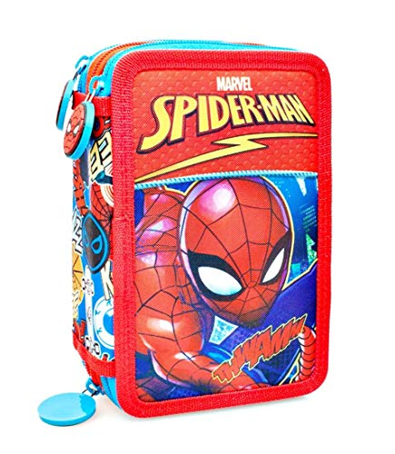 Marvel Spiderman 46124 Estuche 3 bisagras