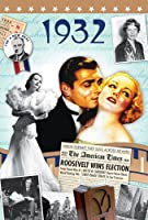 1932 Birthday Gifts - 1932 DVD Film and 1932 Year Greeting Card
