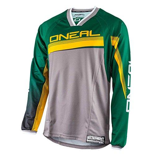 O'NEAL Element FR Jersey Trikot lang grün/gelb 2016 Oneal: Größe: M (48/50)