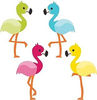 Carson Dellosa – School Pop Flamingos Mini Colorful Cut-Outs, Classroom Décor, 36 Pieces