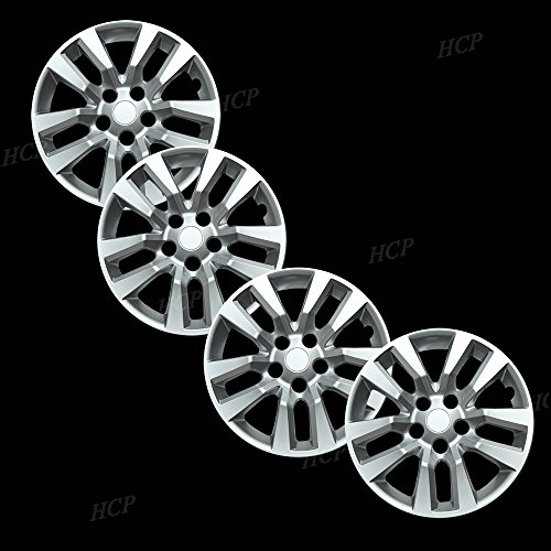Overdrive Brands Silver 16  Bolt on Hub Cap Wheel Covers for Nissan Altima - Set of 4