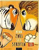 Wenn zwei sich streiten: Tiger und Löwe | Kinderbuch ab 3 Jahren über Streiten, Selbstbewusstsein und innere Stärke, mit Kinderlied