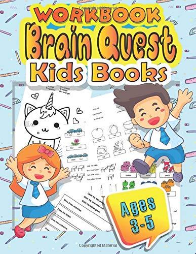 workbook brain quest kids books ages 3-5: workbook /activity...