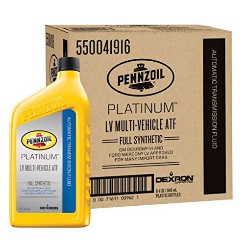Pennzoil 550041916-6PK Motor Oil Lubricant, 1 quart