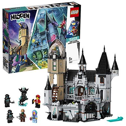 LEGO- CastillodelMisterio Hidden Side Set de Juego de Realidad Aumentada Multijugador Interactiva, Aplicación AR para iPhone/Android, Multicolor (70437)