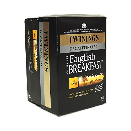 Twinings Decaffeinated English Breakfast 50 Btl. 125G