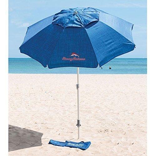 Tommy Bahama 7ft Sunblocking Blue Beach Umbrella