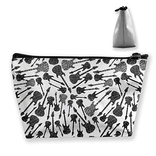Schmutz-Art-Hand gezeichnete kosmetische Make-upbeutel- / Beutel- / Kupplungs-Reise-Fall-Organisator-Speicher-Tasche für Frauen Zubehör