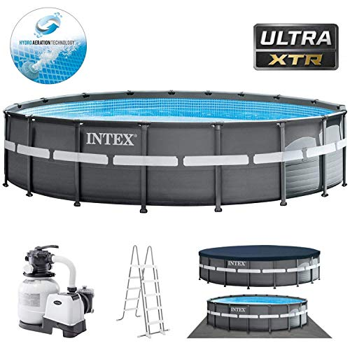 Intex Swimming Pool Ø 549 x 132 cm Frame Pool Set Ultra Rondo XTR 26330