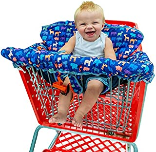 Busy Bambino 2-in-1 Shopping Cart Cover   High Chair Cover for Baby   Now in a Beautiful Animal Print!