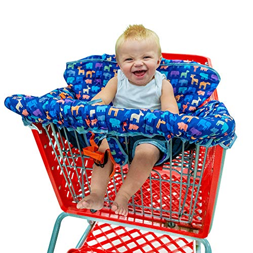 Busy Bambino 2-in-1 Shopping Cart Cover | High Chair Cover for Baby | Now...