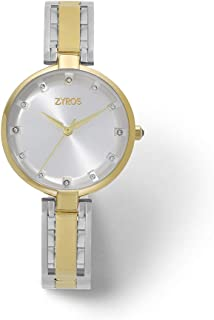 Zyros Watch for Women, Analog, Metal - ZAA140L060611