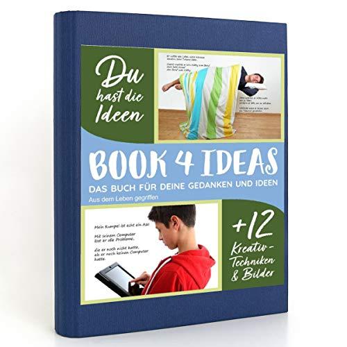 BOOK 4 IDEAS modern | Aus dem Leben gegriffen, Eintragbuch mit Bildern