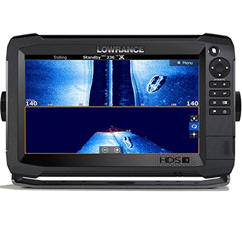 Lowrance HDS-9 Carbon - 9-inch Fish Finder with TotalScan Transducer and C-MAP US Enahanced Basemap