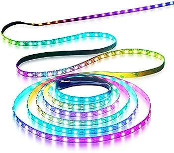 Aclorol WS2812B LEDテープライト 5m