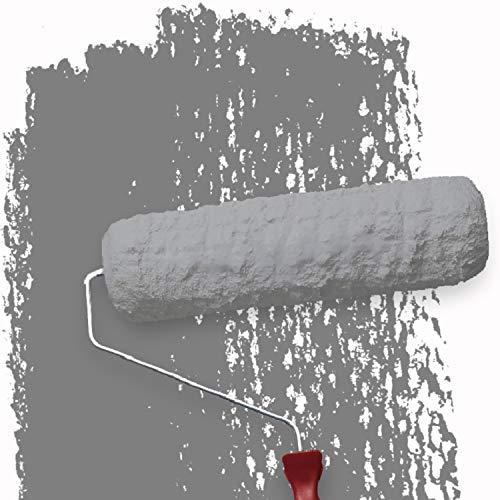 WALLCOVER Colors Wandfarbe grau für Innen 5 L Innenfarbe Moon 6B Matt | Profi Innenwandfarbe in Premium Qualität | weitere Größen und Farbtöne erhältlich