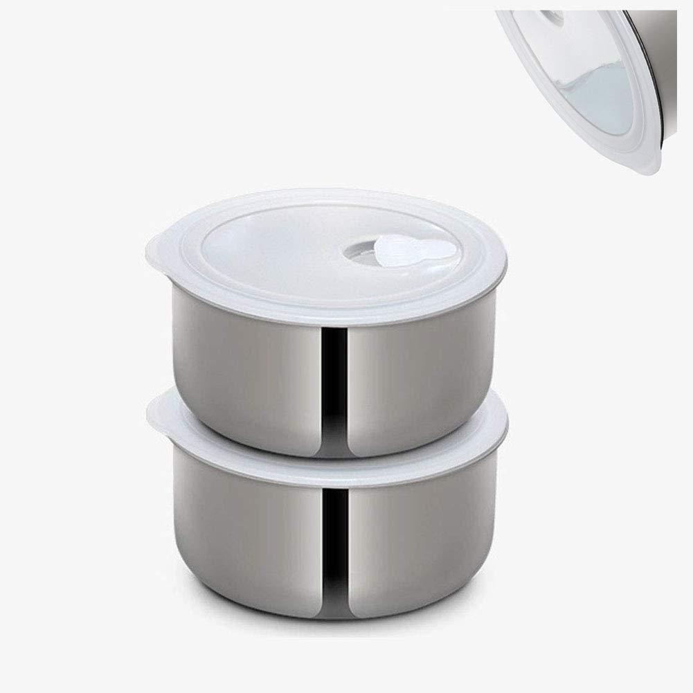 YANWE Robot De Cocina, MultifuncióN Olla Arrocera PortáTil, Caja De CalefaccióN De Acero Inoxidable(1.6L),Blue: Amazon.es: Hogar
