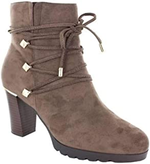 09818 OCRE Ankle Boot high Heel Woman Taupe