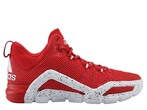adidas Crazyquick 3 Indoor Basketball Hallenschuhe Sneaker rot/Weiss D69527, Schuhgröße:50 2/3 EU