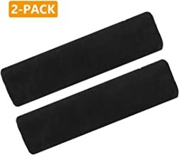 Airzir Car Seat Belt Cover Pad, 2-Pack Soft Car Seat Belt Shoulder Pad Cover for Adults and Kids, Suitable for Car Seat Belt, Backpack, Laptop Bag, Shoulder Bag, A Must Have for Your Car (Black)
