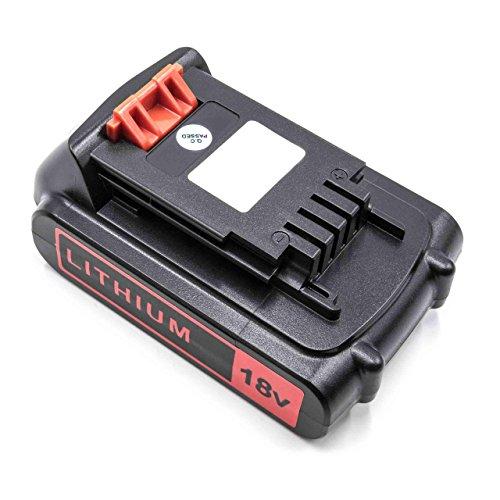 vhbw Batería Recargable reemplaza Black & Decker BL1318, BL1518, BL2018, BL4018 para Herramientas eléctricas (2000 mAh Li-Ion 18 V)