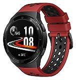 HUAWEI Watch GT 2e Smartwatch (SpO2-Monitoring,Herzfrequenz-Messung,Musik Wiedergabe,GPS,Fitness Tracker,5ATM wasserdicht) lava red [Exklusiv+5 EUR Amazon Gutschein]