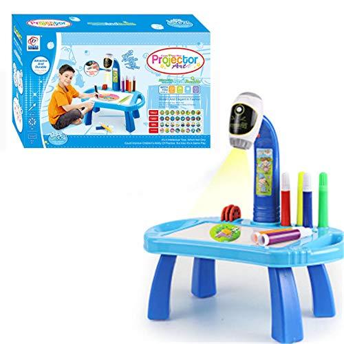 Proyector para colorear para niños, mesa de dibujo, proyector de arte educativo, juguete para niños y niñas.