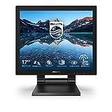Philips Monitors 172B9T - Monitor Táctil para PC de 17' FHD (Portátil, 1 ms, resolución 1280x1024, LowBlue Mode, VESA, Altavoces, HDMI, Displayport, USB)