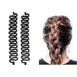 Global Quickly Hair Braider Fashion French Hair Braiding Tool Bun Maker Hair Styling Clip Stick Hair Accessories Twist Plait Hair Accessory For Women And Girls Hair Braid - Pack of 1