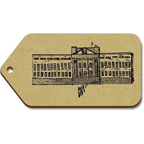 Azeeda 10 x Groß 'Buckingham Palace' Hölzerne Tags (TG00014192)