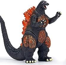 Burning Godzilla Action Figure - Movie Monster Series Burning Godzilla- Toys for Boys and Girls - Godzilla Figure for Kids - Godzilla Action Figure - Upgraded Classic Model