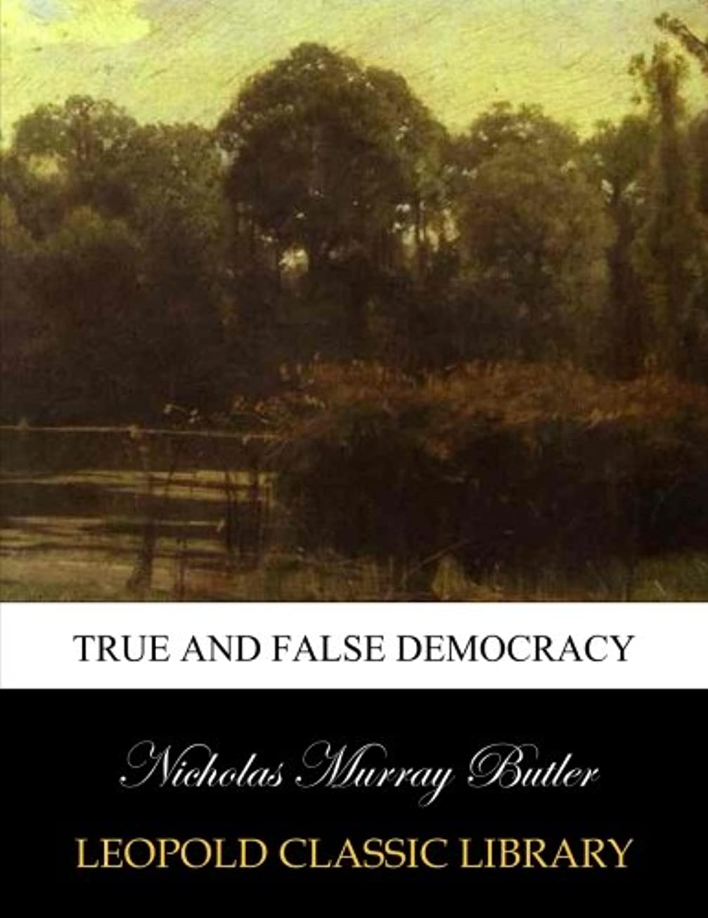 理解構成隔離するTrue and false democracy