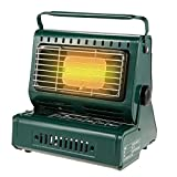 Portable Butane Safe Heater - 2 in 1 Camping Cooker - Durable Stainless