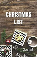 Christmas List Journal: Christmas Notebook with Checklist Boxes and Lines
