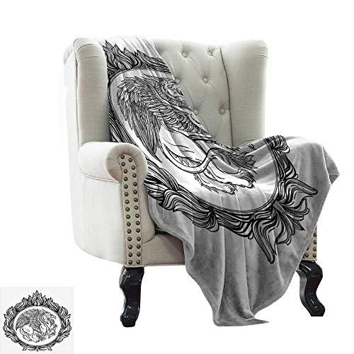LsWOW - Manta de Felpa, diseño Vintage de Rosas de Aspecto Grueso, Estilo Vintage, romántico y floreciente, Color Amarillo, Beige, marrón, cálido e hipoalergénico, Lavable, para sofá o Cama