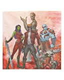 American Greetings Guardians of the Galaxy Party Supplies, Marvel Paper Lunch Napkins (16-Count)