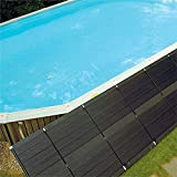 Swimming Pool DIY Solar Panel In-Ground/Above-Ground Heating System Spa Pool Heater UV And Ozone Protection,1.1 x 10Ft
