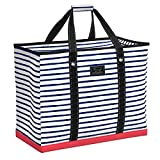 SCOUT 4 Boys Bag, Extra Large Beach Bag with Zipper, Pockets, and Comfort Grip Handles, Lightweight, Water-Resistant Utility Tote Bag