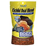 Tetra Cichlid Dual Blend, 2-In-1 Diet For Shy and Bold Fish,...