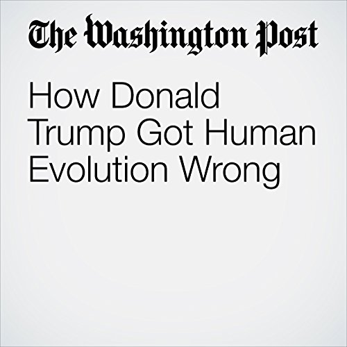 How Donald Trump Got Human Evolution Wrong audiobook cover art