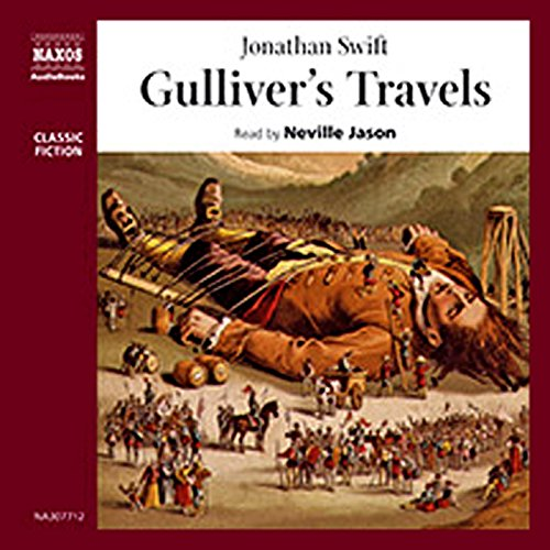 Gulliver's Travels                   By:                                                                                                                                 Jonathan Swift                               Narrated by:                                                                                                                                 Neville Jason                      Length: 3 hrs and 57 mins     Not rated yet     Overall 0.0