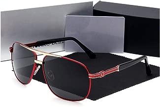 LUKEEXIN Mens Fashion Classic Polarised Sunglasses UV400 Protection Eyewear for Driving Travel