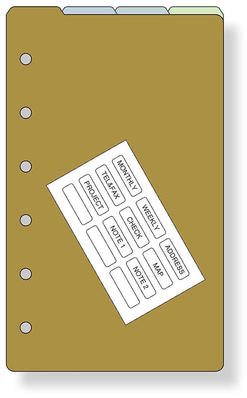 区別する和らげるコーデリアレイメイ藤井 ダヴィンチ リフィル カラーインデックス ポケット DPR262