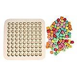 Montessori Matemáticas Multiplicación Educación Juguete Mesa Matemáticas...