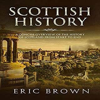 Scottish History audiobook cover art